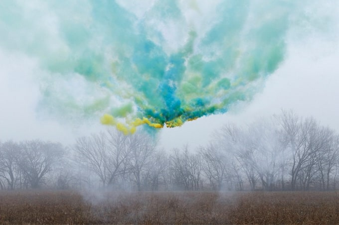 Colorful fogs of Irby Pace -fog, colour, colors, colorful, color