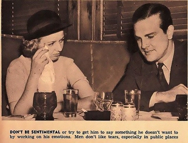 Dating Tips for Women from 1938 -vintage, retro
