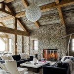 Magnificent home in Montana: village motive