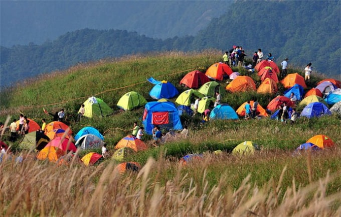 Camping Festival in Jiangxi Province, China -festivals, festival, china