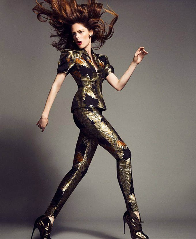 Coco Rocha for Madam Figaro -supermodel, canadian