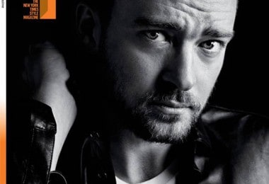 Justin Timberlake for The New York Times T Style