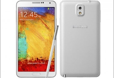 The new smartphone Samsung Galaxy Note 3