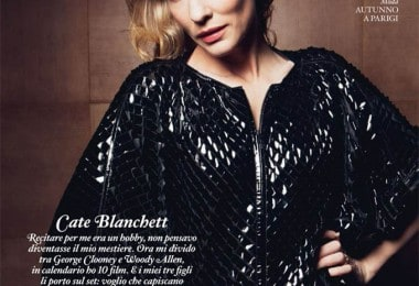 Cate Blanchett for Io Donna magazine