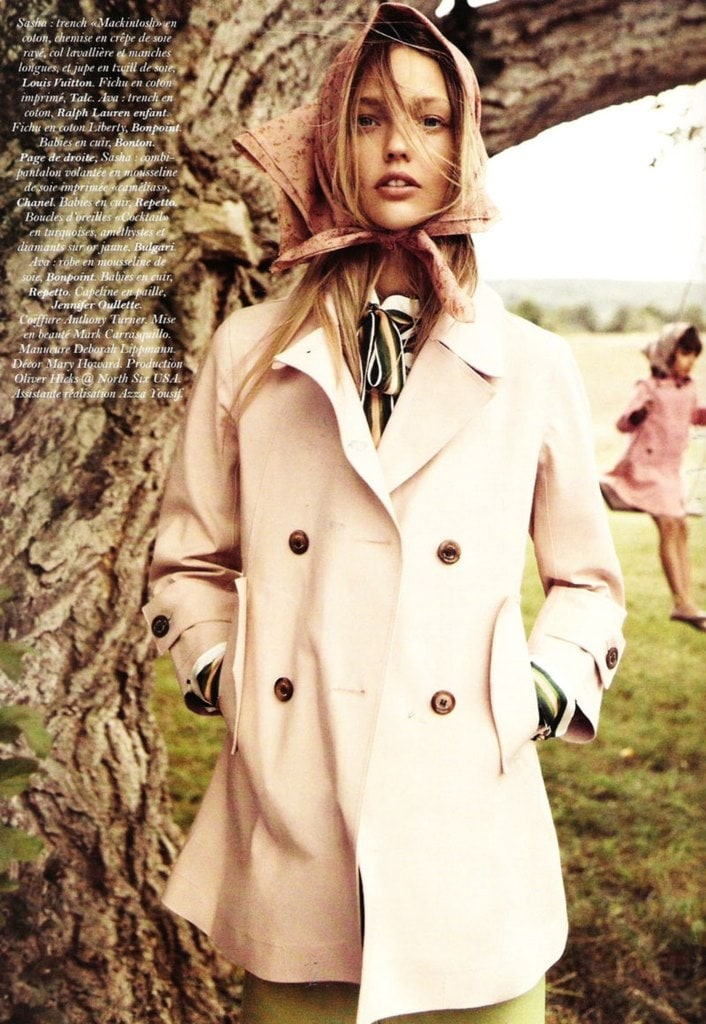 Sasha Pivovarova for Vogue Paris -vogue Paris, vogue, photographer, Mikael Jansson