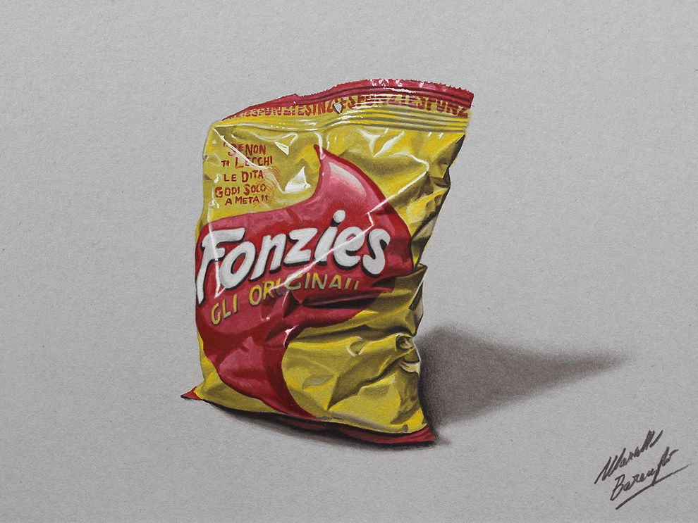 Incredible Hyper-Realistic Drawings By Marcello Barenghi -hyper-realistic, drawings, artist