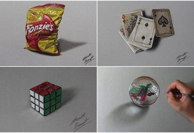 Incredible Hyper-Realistic Drawings By Marcello Barenghi