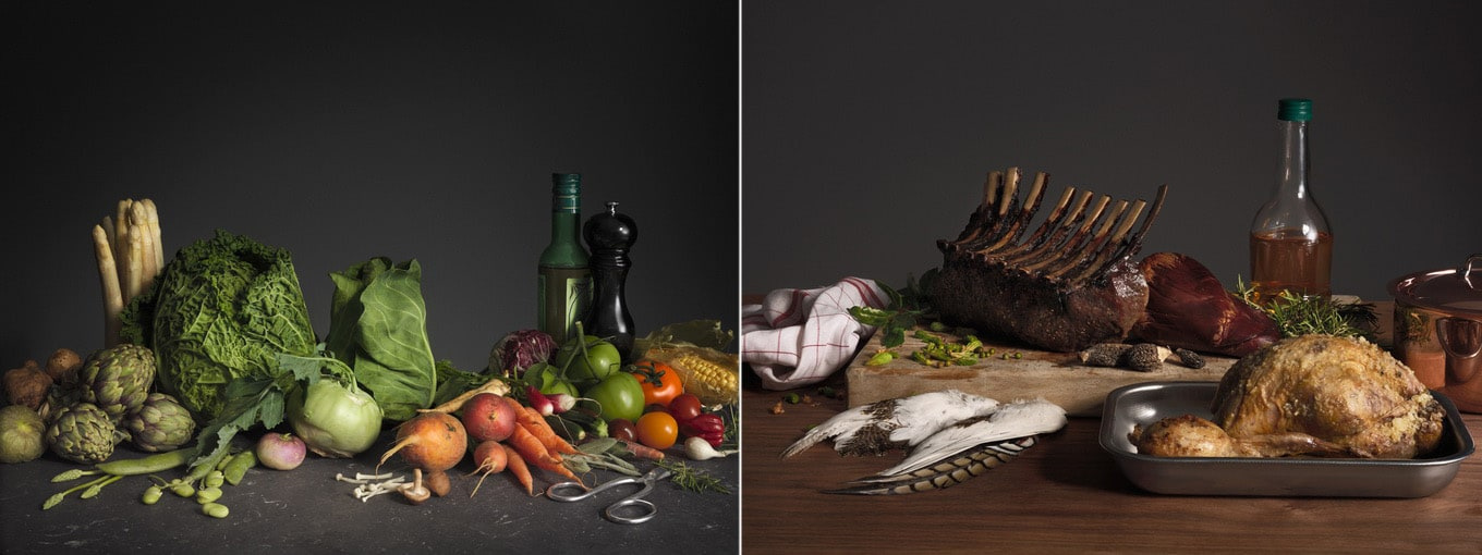 Food Photographer Gustav Almestal and stylist Niklas Hansen has created a  beautiful still life photo series for the cookbook  which is sold with a  kitchen. Food Photographer Gustav Almestal   FreeYork