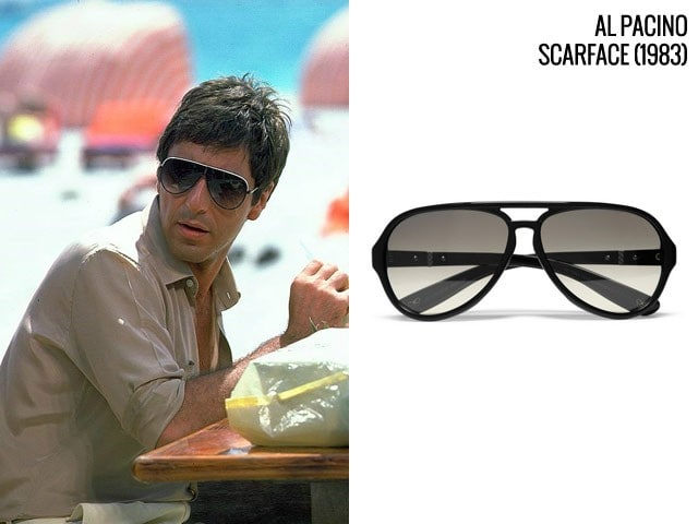 Tom cruise wear rayban sunglass hd pictures for Occhiali al pacino scarface