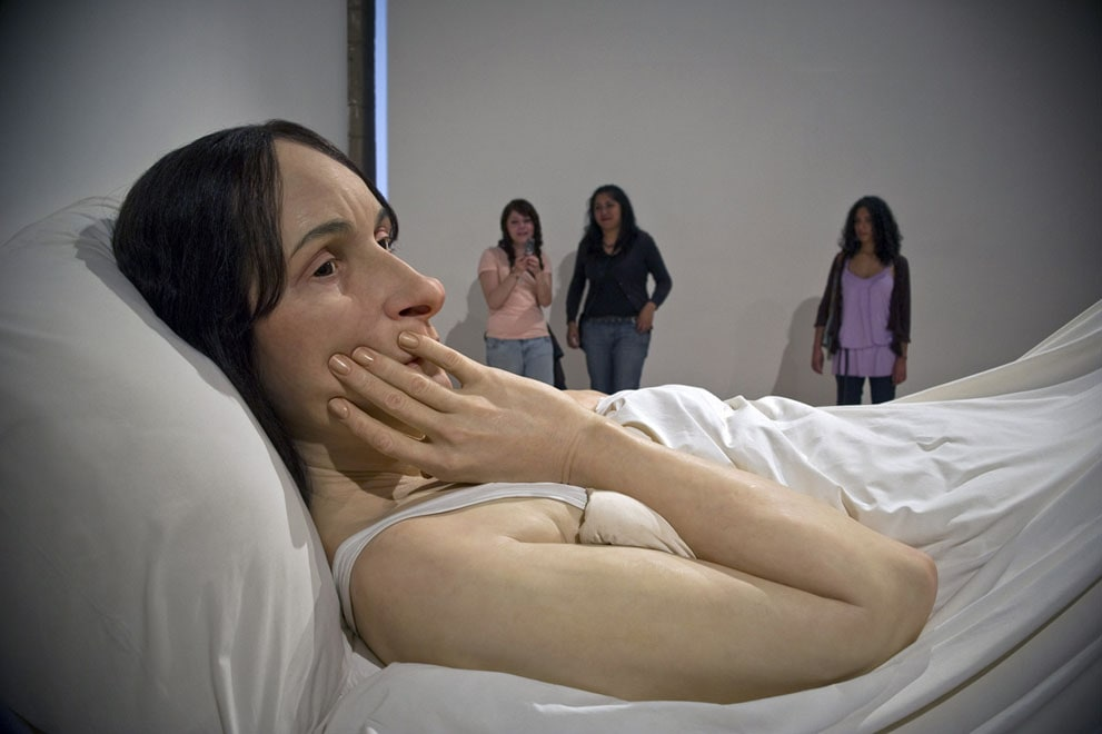Mind Boggling Hyper realistic Sculptures by Ron Mueck