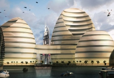 """Organic Cities"" for UAE by Luca Curci Architects"