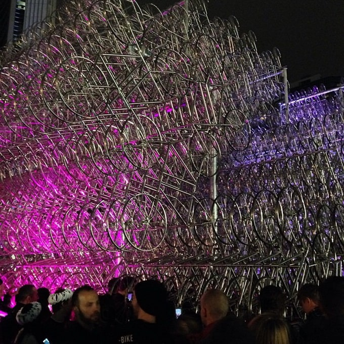 Ai Weiwei's Forever Bicycles -bicycles, bicycle