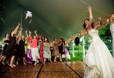 """Funny Blog """"Brides Throwing Cats"""""""