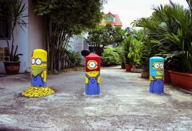 Minions by Ernest Zacharevic