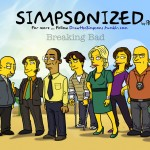 'Breaking Bad' Characters as 'The Simpsons' by Adrien Noterdaem