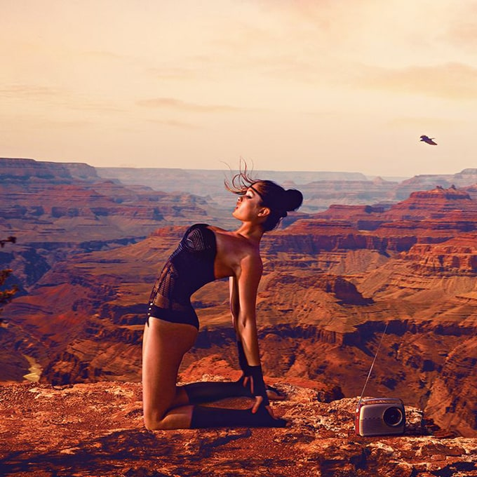 GUESS Advertising Campaign in Grand Canyon -models, model, Guess, chinese, advertising campaign