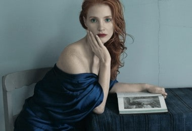 Jessica Chastain for Vogue US