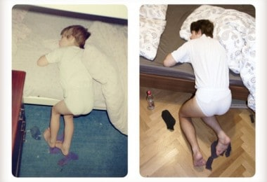 Brothers Re-Create Pictures of Them – 20 Years Later