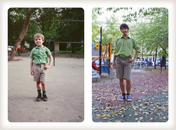 Brothers Recreated Childhood Photos 03 - Brothers Re-Create Pictures of Them – 20 Years Later