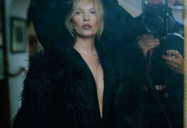 Kate Moss for Vogue UK 2