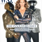 Gisele Bundchen and Daft Punk by Terry Richardson