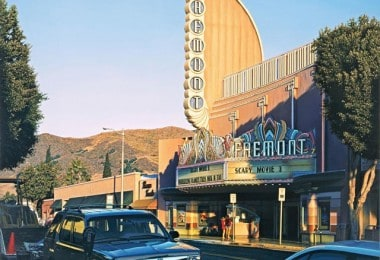 Hyper-Realistic Paintings of Art Deco Movie Theatres by Davis Cone