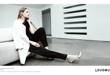 """Natalia Vodianova for """"Loudmut""""s Advertising Campaign"""