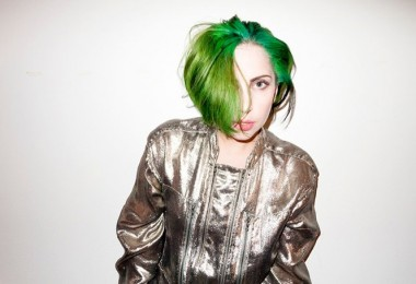 Lady Gaga with New Hair Style 2