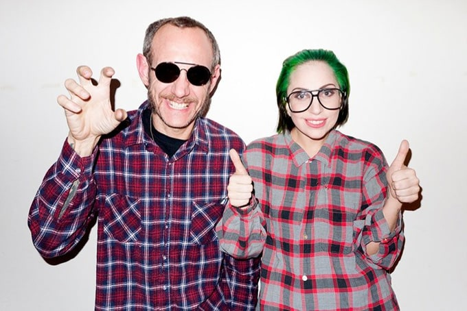 Lady Gaga with New Hair Style -terry richardson, singer, popular, photographer, Lady Gaga, famous
