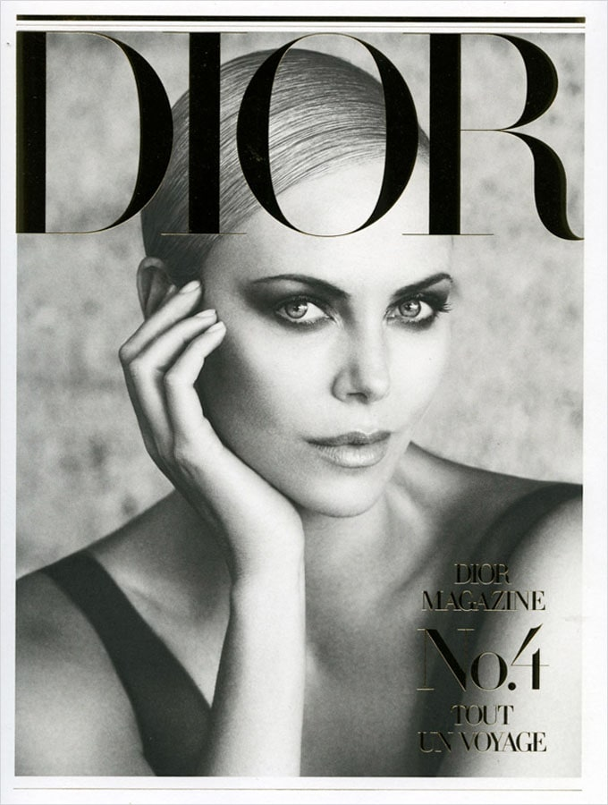 Charlize Theron for Dior Magazine -photographer, patrick demarchelier, legendary, dior, actresses, Actress