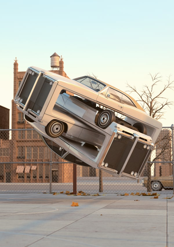Auto Aerobics by Chris LaBrooy -cgi