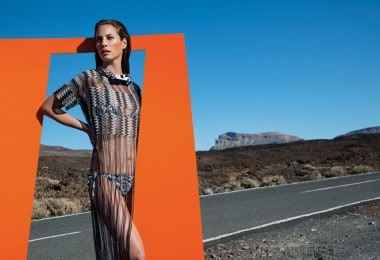 "Christy Turlington in ""Missoni"" Advertising Campaign"