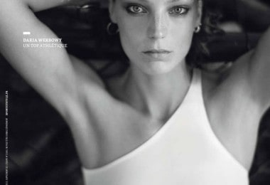Daria Werbowy for L'equipe Sport & Style