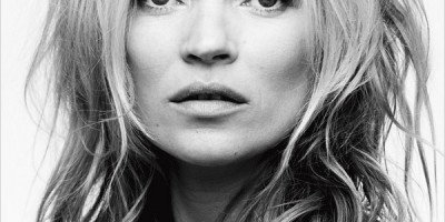 Kate Moss for Eleven Paris Advertising Campaign