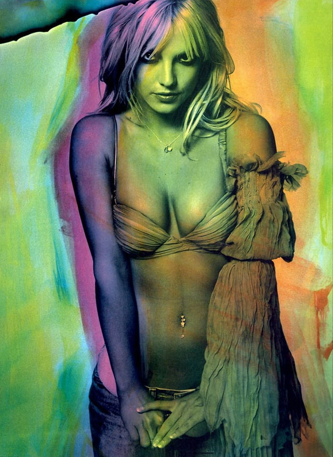 Britney Spears Steven Klein Photoshoot 2001