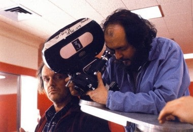 "Backstage of Stanley Kubrick's ""The Shining"" movie"
