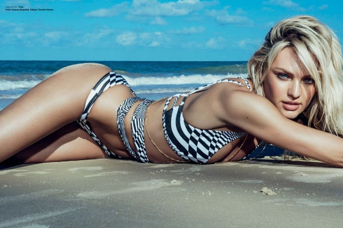 Candice Swanepoel for Vogue Brazil -Vogue Brazil, vogue, photographer, models, model, Candice Swanepoel