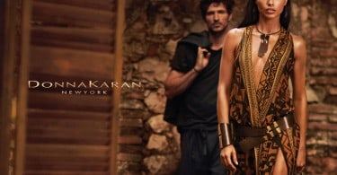 Adriana Lima in Donna Karan 's Advertising Campaign 1