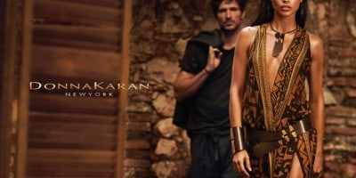 Adriana Lima in Donna Karan 's Advertising Campaign