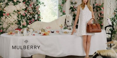 Cara Delevingne for Mulberry Advertising Campaign