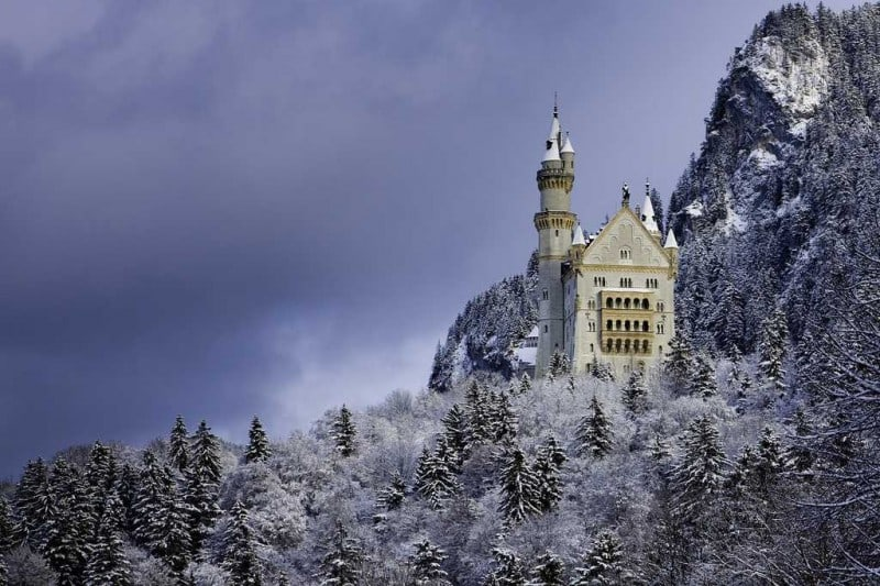 16 Most Fascinating Castles During Winter -winter, castles