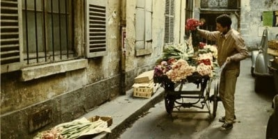 Color Photographs of Paris of the 1950's