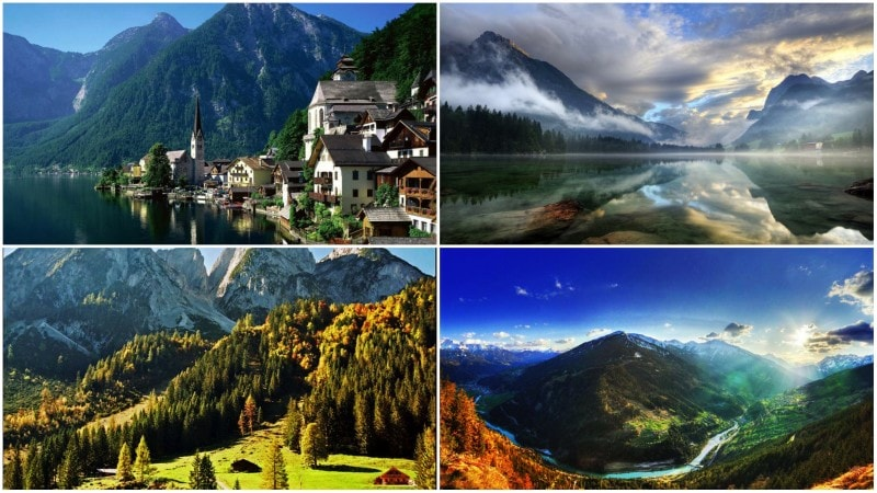 87 Best Beauty Fashion Around The World Images On: Top 10 Natural Beauty Spots Around Austria