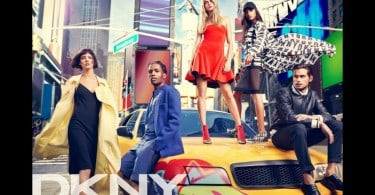 Cara Delevingne, A$AP Rocky and others for DKNY Advertising Campaign
