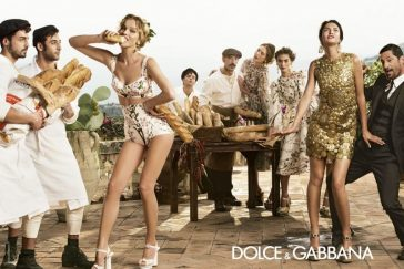 Dolce & Gabbana Advertising Campaign SPRING 2014 -models, model, Eva Herzigova, Catherine McNeil, advertising campaign