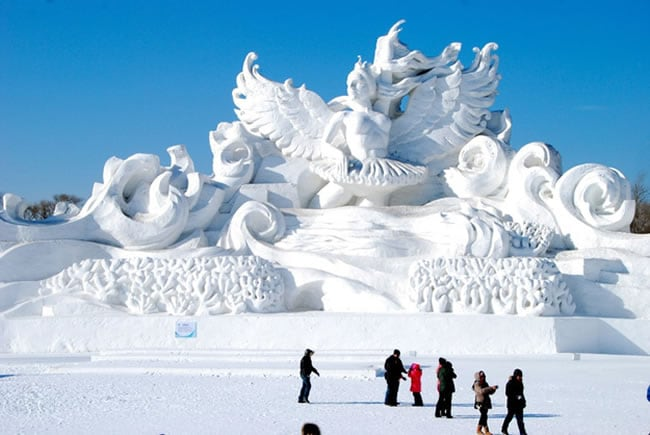 snow and ice festivals