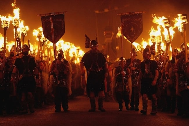 Up Helly Aa Fire Festival — Lerwick, Scotland