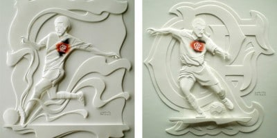 Lovely Paper Sculptures by Carlos Meira