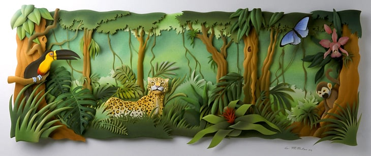Lovely Paper Sculptures by Carlos Meira > FREEYORK