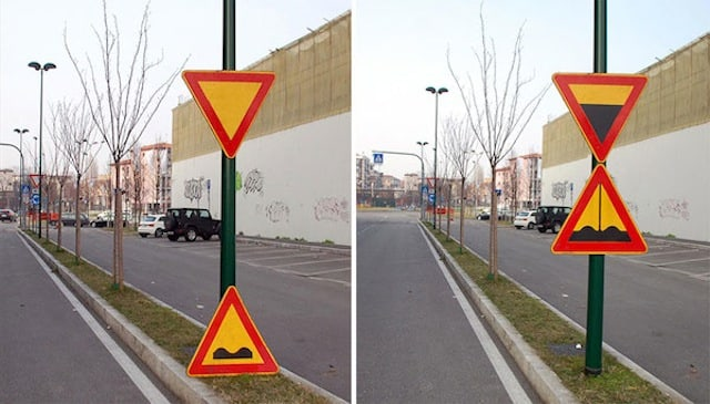 Artist uses public Structures to create funny Urban Installations -